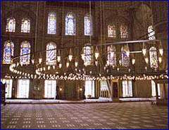 Day 1 - Inside of Blue Mosque - Istanbul